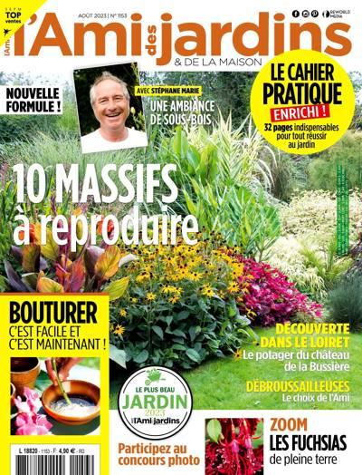 Abonnement magazine L'Ami des jardins et de la maison