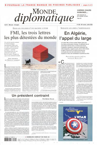 Abonnement Le Monde Diplomatique