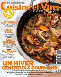 Cuisine et Vins de France N° 198