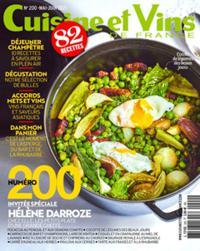 Cuisine et Vins de France N° 200