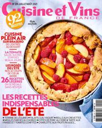 Cuisine et Vins de France N° 201