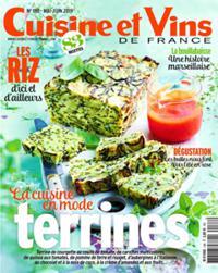 Cuisine et Vins de France N° 188