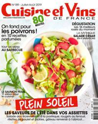 Cuisine et Vins de France N° 189