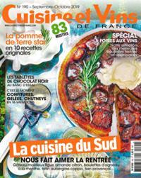 Cuisine et Vins de France N° 190