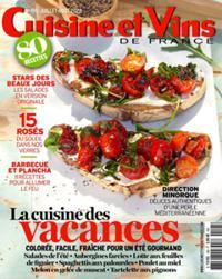 Cuisine et Vins de France N° 195