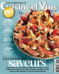 Cuisine et Vins de France N° 196
