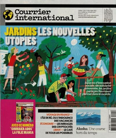 Abonnement magazine Courrier International