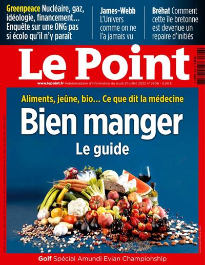 Abonnement magazine Le Point