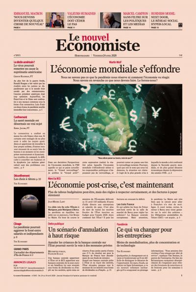 Le Nouvel Economiste (photo)