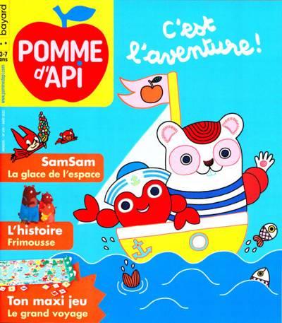 Abonnement magazine Pomme D'Api