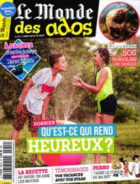 Le Monde des Ados N° 455