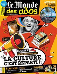 Le Monde des Ados N° 457