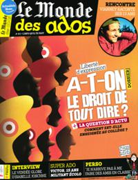 Le Monde des Ados N° 461