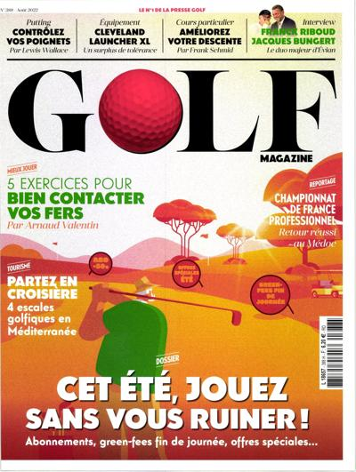 Abonnement Golf Magazine