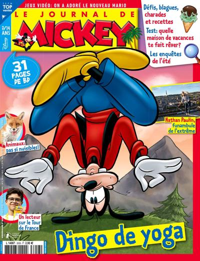 Abonnement LE JOURNAL DE MICKEY