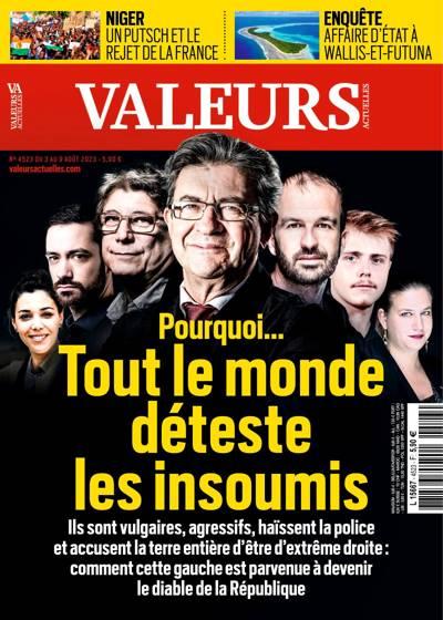 Abonnement magazine Valeurs Actuelles