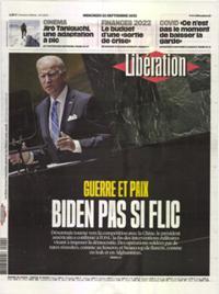 Libération N° 210922