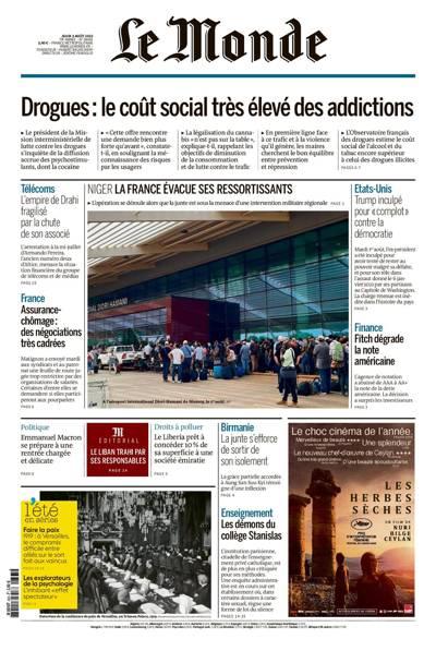 Abonnement magazine Le Monde Quotidien
