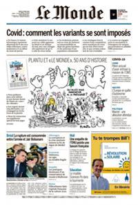 Le Monde Quotidien N° 210401