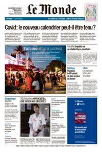 Le Monde Quotidien N° 210403