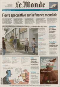 Le Monde Quotidien N° 210407