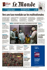 Le Monde Quotidien N° 210409