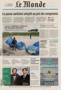 Le Monde Quotidien N° 210727
