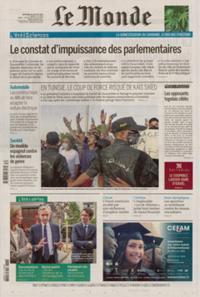 Le Monde Quotidien N° 210728