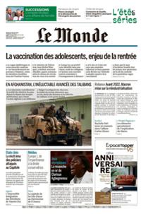 Le Monde Quotidien N° 210729