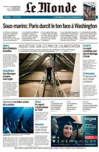 Le Monde Quotidien N° 210920