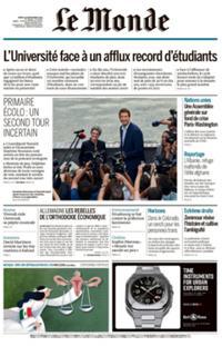 Le Monde Quotidien N° 210921