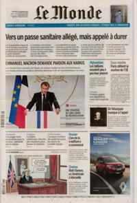 Le Monde Quotidien N° 210922