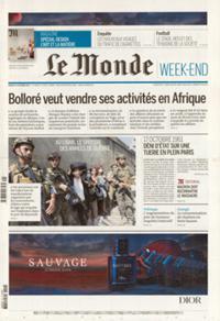 Le Monde Quotidien N° 211016