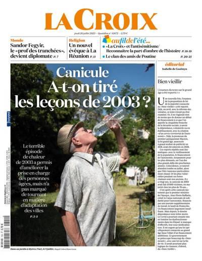 Abonnement magazine La Croix