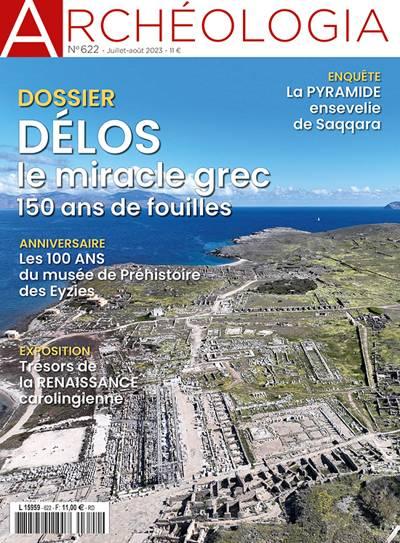 Abonnement magazine Archéologia