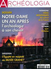 Archéologia N° 590