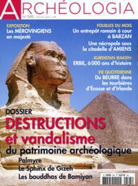 Archéologia N° 595
