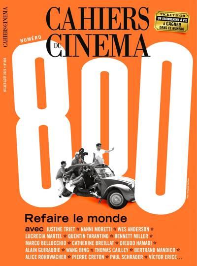 Abonnement LES CAHIERS DU CINEMA