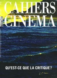 Les Cahiers Du Cinéma N° 765