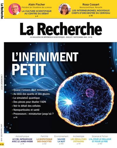 La Recherche - N°549