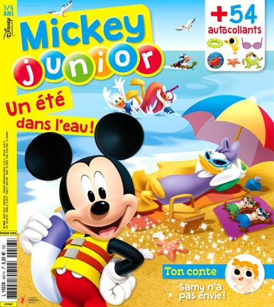 Abonnement magazine Mickey Junior