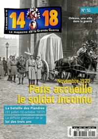 La Guerre 14/18 N° 91