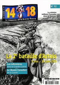La Guerre 14/18 N° 92