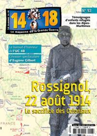 La Guerre 14/18 N° 93