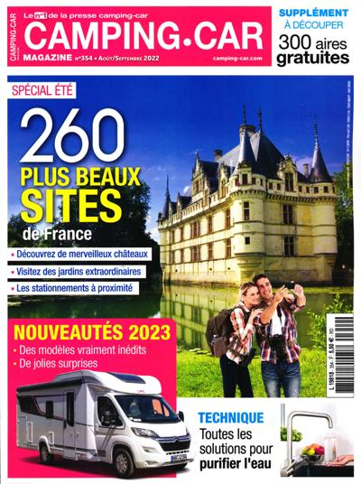 Idee Cadeau Camping Car.Abonnement Magazine Camping Car Magazine
