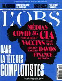 L'OBS - Le Nouvel Observateur N° 2929