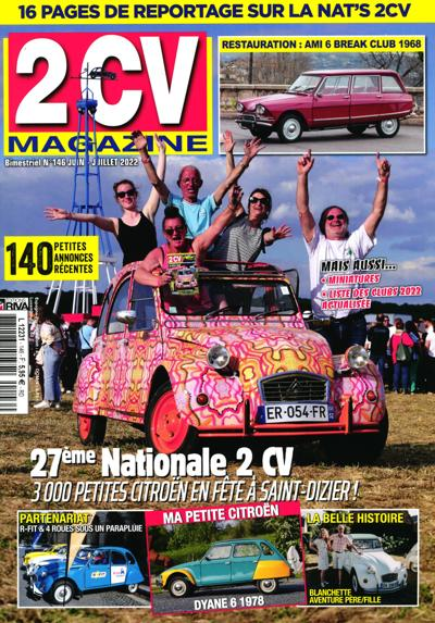 2 CV Magazine - N°136