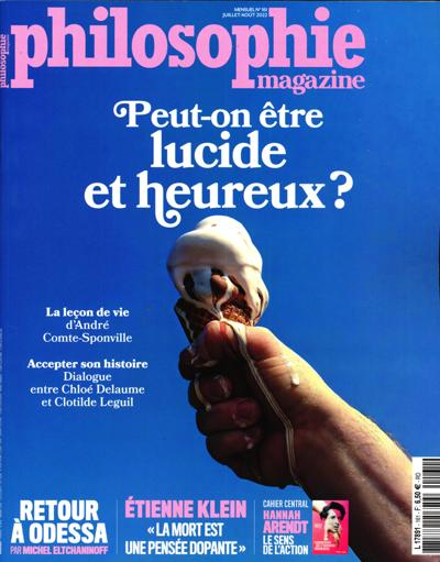 Abonnement magazine Philosophie Magazine