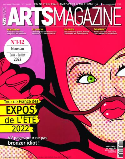 Abonnement magazine Arts Magazine International