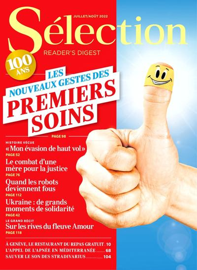 Abonnement magazine Sélection Reader's Digest